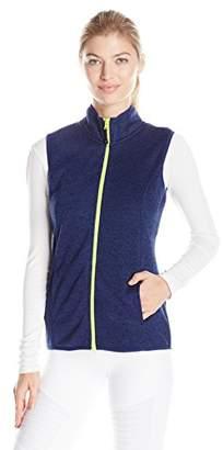 Head Women's Snow Leopard Sweater Knit Vest