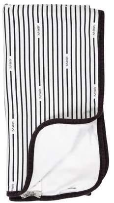 Armani Junior Boys' Striped Baby Blanket