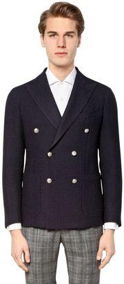 Textured Extra Fine Wool Jacquard Blazer $599 thestylecure.com