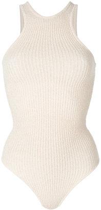 rib knit bodysuit