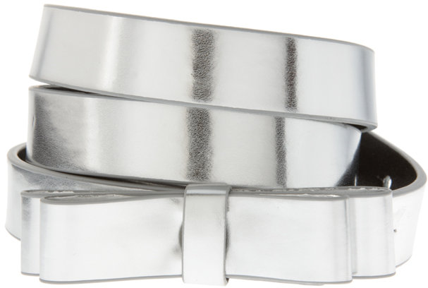 ASOS Mirror Metallic Bow Waist Belt