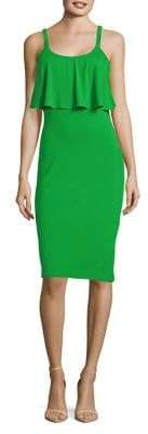 MICHAEL Michael Kors Flounce Sheath Dress