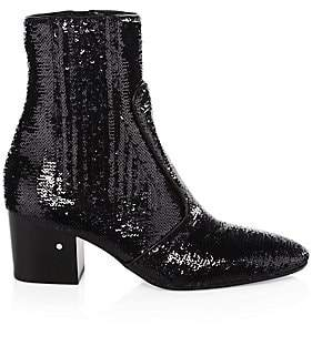 Laurence Dacade Women's Ringo Sequin Booties