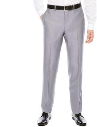 Jf J.Ferrar JF Men's Woven Flat-Front Slim Fit Suit Pants