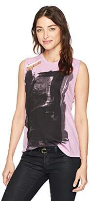 Freecity Women's Paintbox Sleeveless T-Shirt W/pins