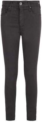 AG Jeans Farrah High-Rise Skinny Ankle Jeans
