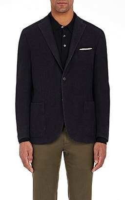 Boglioli MEN'S WOOL THREE-BUTTON SPORTCOAT - NAVY SIZE 50
