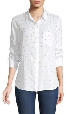 Rails Charli Star Print Button-Down Shirt