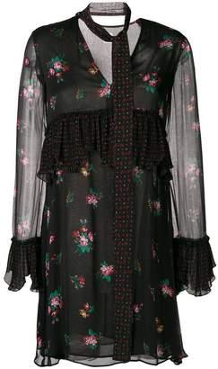 Pinko floral print mini dress