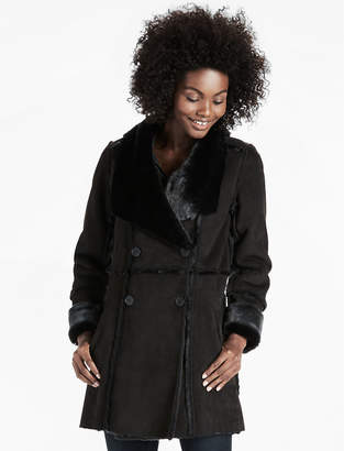 Lucky Brand SHEARLING WATERFALL JACKET