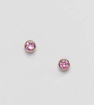 Ted Baker Sinaa Pink Crystal Stud Earrings