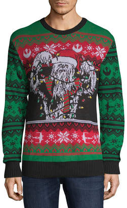 Star Wars NOVELTY SEASON Ugly Christmas Chewbacca Sweater