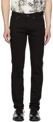 Givenchy Black Slim-Fit 4G Jeans