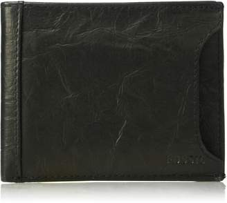 Fossil Men's Neel Leather Sliding 2 In 1 Cardcase Bifold Wallet