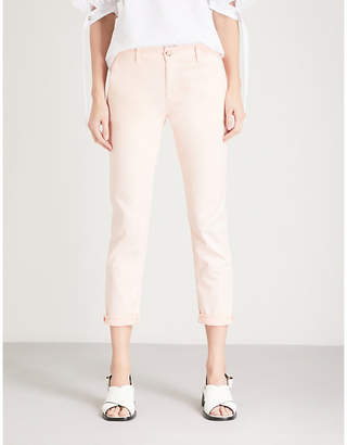 AG Jeans The Caden mid-rise skinny cotton-blend trousers