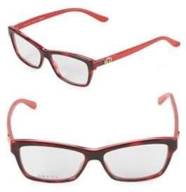 Gucci 52MM Square Optical Glasses