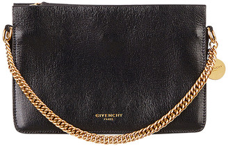 Givenchy Cross3 Leather Crossbody Bag in Black | FWRD