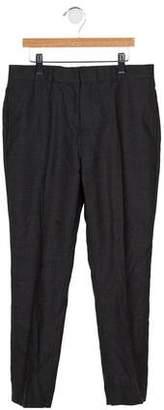 Brooks Brothers Boys' Wool Tapered Pants
