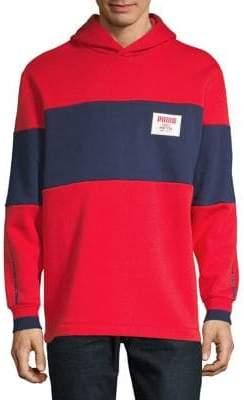 Puma Colourblock Hooded Sweater