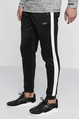 boohoo Active Gym Jogger With Side Panel