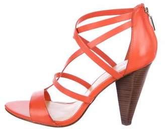 Rebecca Minkoff Leather Multistrap Sandals w/ Tags
