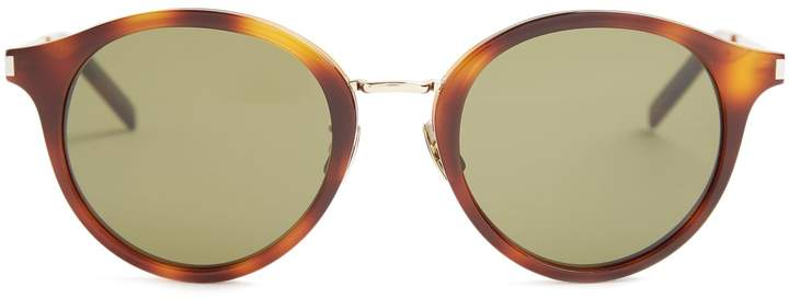 Saint Laurent SAINT LAURENT Round-frame sunglasses