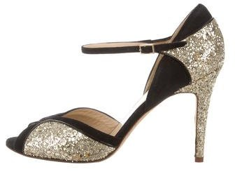Kate Spade Kate Spade New York Glitter Peep-Toe Pumps