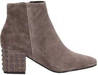 Bibi Lou Grey Suede Leather Ankle Boot