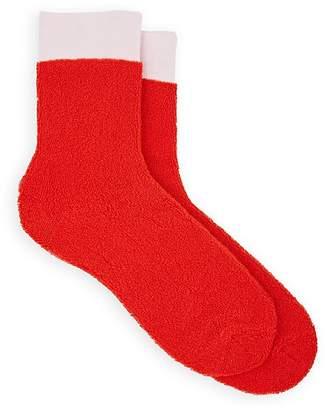 Maria La Rosa Women's Cotton-Blend Mid-Calf Terry Socks