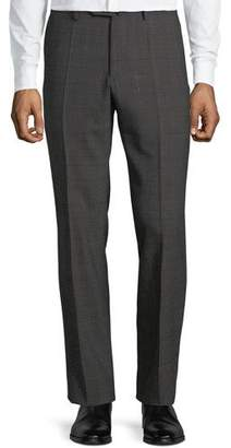 Incotex Men's Benson Check Wool Pants