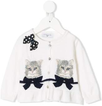 MonnaLisa kittens knit cardigan