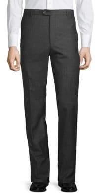 Hickey Freeman Classic Wool Trousers