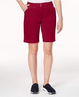 Karen Scott Petite Bermuda Shorts, Created for Macy's