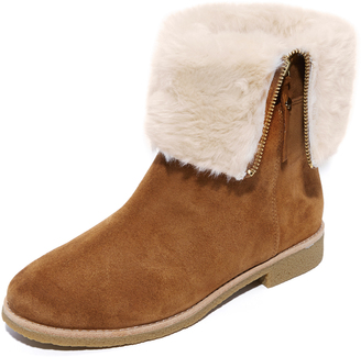 Kate Spade New York Baja Faux Fur Booties $268 thestylecure.com