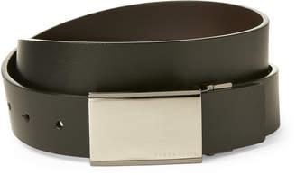 Perry Ellis Reversible Plaque Belt