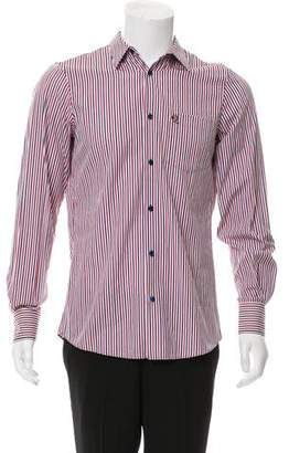 Alexander McQueen Striped Button-Up Shirt w/ Tags