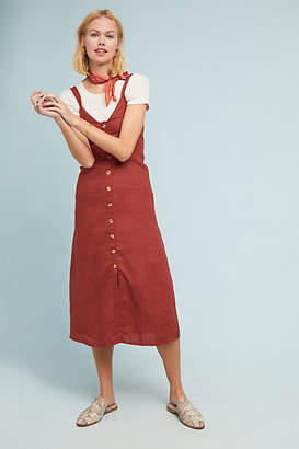 Sangria Faithfull Faithful Linen Shirtdress