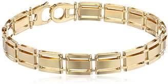 Men's 14k Solid Fancy Bracelet