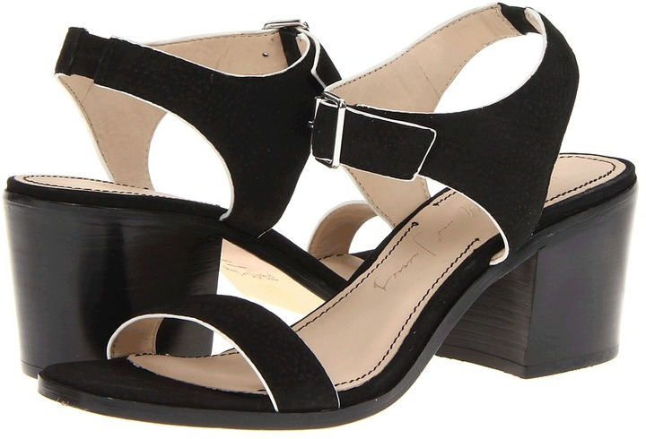 Elizabeth and James Ryann (Black Leather) - Footwear