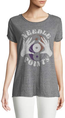 Free People Needle Points Graphic Tee