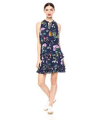Laundry by Shelli Segal Women's Floral Tiered Dress,4