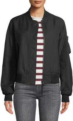 Helmut Lang Bomber Jacket with Utility Sleeve