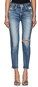 Moussy VINTAGE Women's Lindsay High-Rise Skinny Jeans - Blue