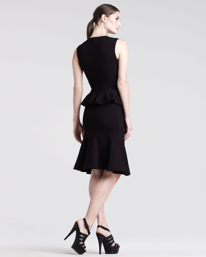 Altuzarra Kudu Sleeveless Wrap Dress