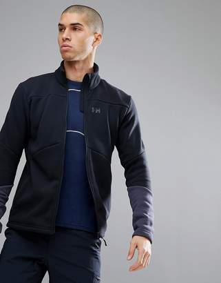 Helly Hansen EQ Black Midlayer Jacket In Black
