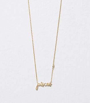 LOFT Pisces Horoscope Letter Necklace