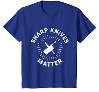 Sharp Knives Matter T-shirt Funny Cooking Chef Tee