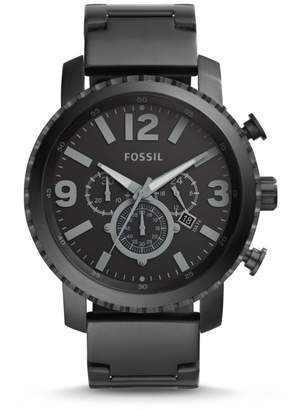 Fossil Gage Chronograph Black Stainless Steel Watch