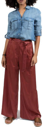 NATIVE YOUTH Wide Leg Pants