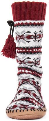 Muk Luks Womens Slipper Socks With Tassels 1 Pair Slipper Socks - Womens